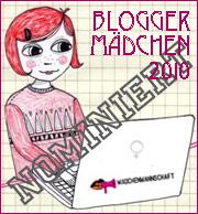 Nominierung zur Bloggerin des Jahres 2010