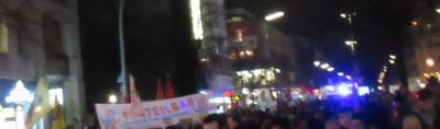 Demonstration gegen rechten Terror <br /> Berlin 20.02.20
