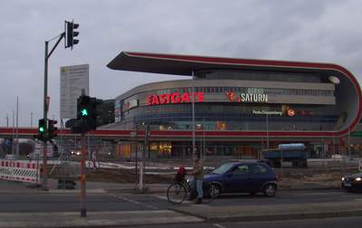 Die Mall Eastgate in Marzahn.