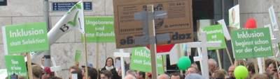 Inklusion gegen Abtreibung