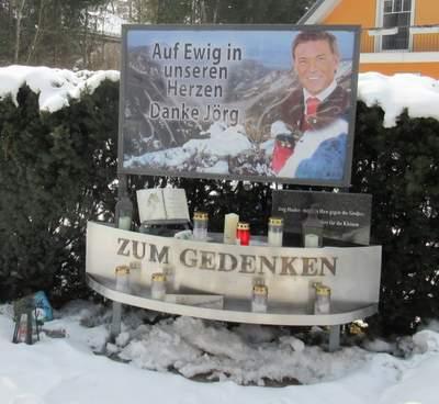 Haider-Gedenkstätte bei Klagenfurt