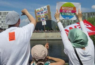 Demonstration gegen die AFD, 27.05.18