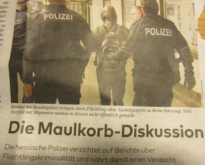 """Ausschnitt aus der Welt kompakt am 26.02.16: """"Die Maulkorb-Diskussion"""""""