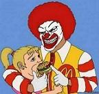 Ronald Mc Donalds wahres Gesicht?