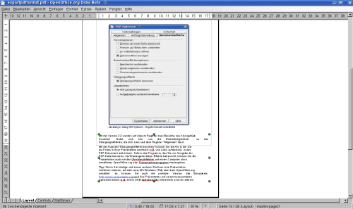 PDF-Import in OOo 3