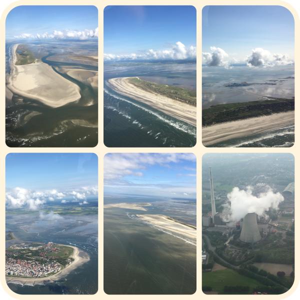 Inseln in Ostfriesland