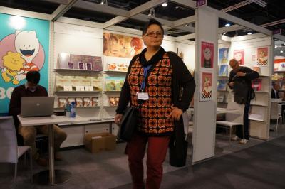 ... auf der Buchmesse 2012 in Frankfurt