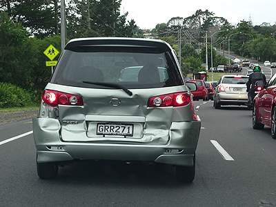 Albany Highway - Unsworth Heights - Auckland - New Zealand - 12 February 2015 - 8:29