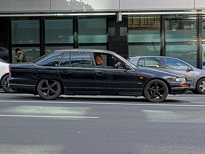 Victoria Street West - Auckland - New Zealand - 26 August 2014 - 12:20