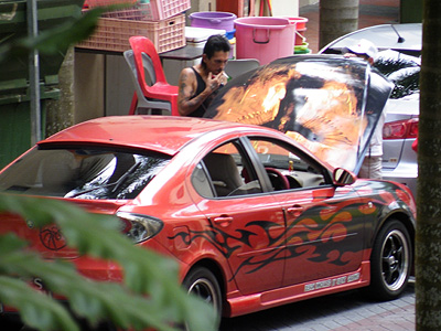 Arab Street x Beach Road - Singapore - 31 October 2008 - 17:37