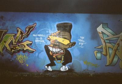 Grafitti in Chelmsford