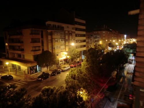 Orange , Spanien , Nacht