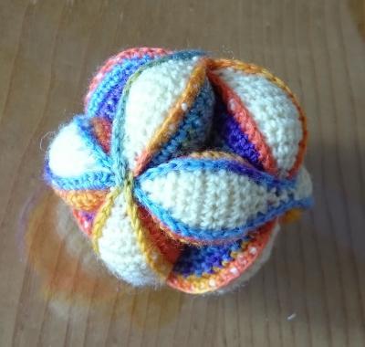 Meine Bastelwelt Mein Erster Baby Ball