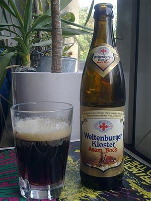 das asam bock weltenburger kloster-bier ist aus der &auml;ltesten klosterbrauerei der welt, sie entstand im jahre 1050.<br /> es ist ein sehr kr&auml;ftiges und schmackhaftes bier.