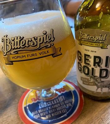 Das Bier ist aus Stäfa und gibts auch nur dort. www.bitterspiel.ch
