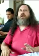 Stallman singt den Free Software Song