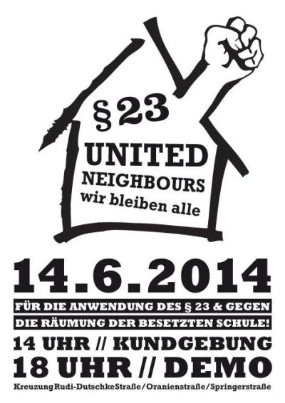 refugee-demo for §23