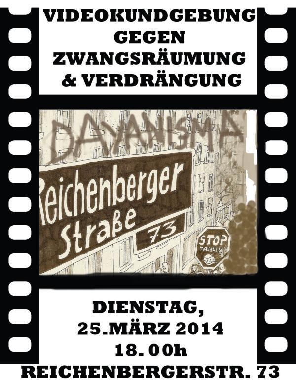 flyer fuer die videokundgebung am 25.03.2014