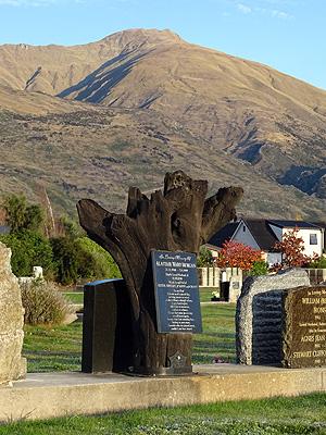 Wanaka Cemetery - Stone Street - New Zealand - 3 May 2015 - 8:23