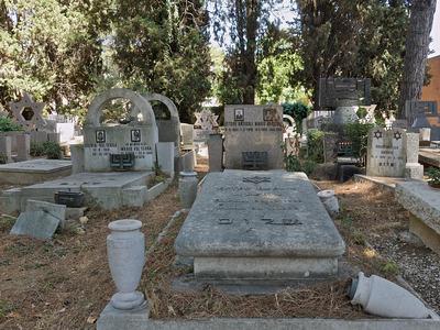 Campo Verano, settore ebraico, Roma