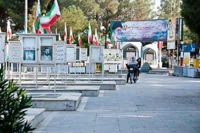 Friedhof der Märtyrer, Kashan, Iran