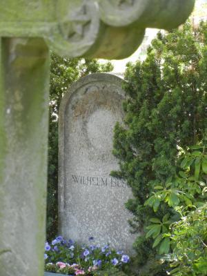 Wilhelm Busch Grab in Mechtshausen im Harz