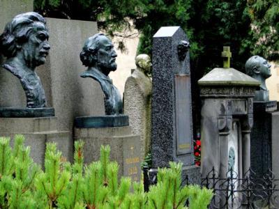Friedhof  Vyšehrad