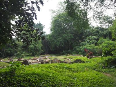 Bukit-Brown-Friedhof, chinesischer Friedhof im letzten erhaltenen Stück primären Regenwalds auf dem Stadtgebiet von Singapur