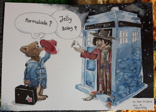 Doctor Who and Paddington