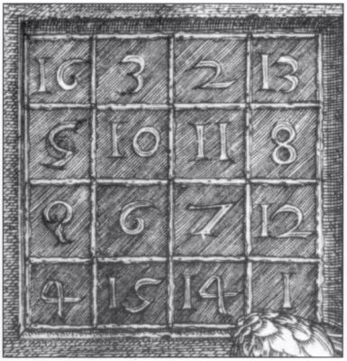 Magisches Dürer Quadrat