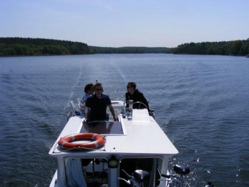 houseboating - nichts für Weicheier
