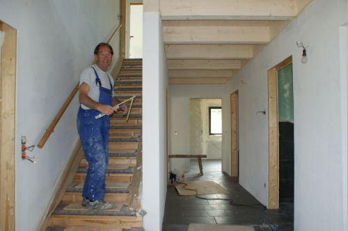 Unser traum baublog naturhausbau 2000 das erdgeschoss ist fertig