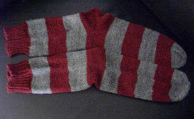 Socken passend zum Pullover