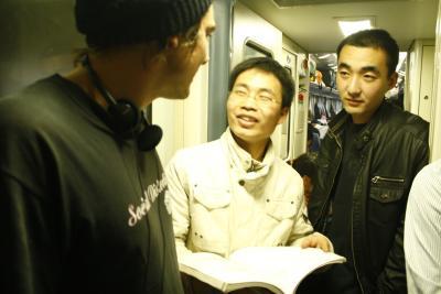 Spirituelle Nachhilfe auf der Zugfahrt nach Qufu.