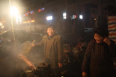 (mit-)verantwortlich für die chinesische Hochkultur - Grillmeister in Tai An