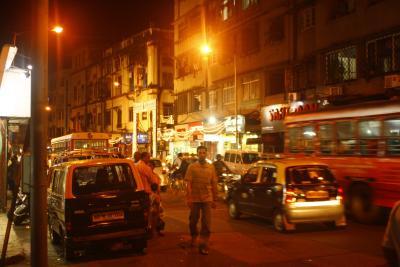 Mumbai Straßenkampf