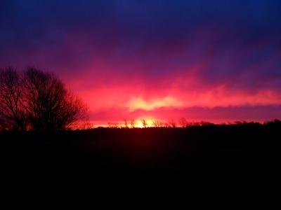 Sonnenaufgang 10 Jan. 2019