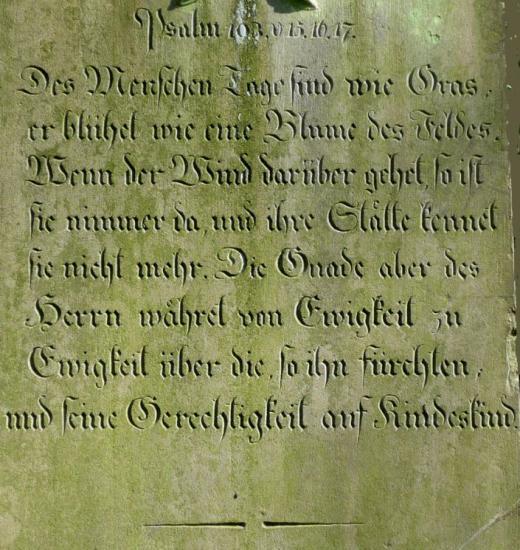 grabstein peter lucas colsman d.Ä. 1808