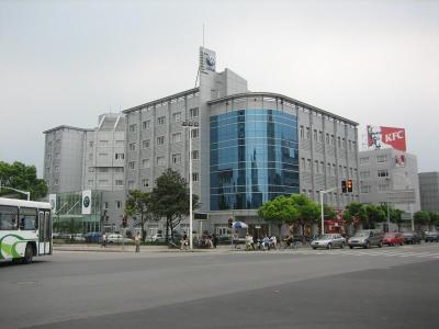 Mein Arbeitsplatz bei Shanghai Volkswagen, Skoda Division