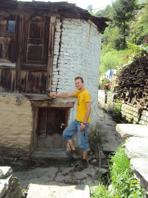 me with a big door in manali