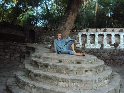 chilling in rock garden, Chandigarh