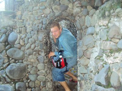 1.5m doors in rock garden