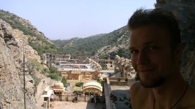 me in monkey temple