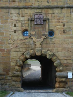 Eingang zum Schloß Kapfenburg