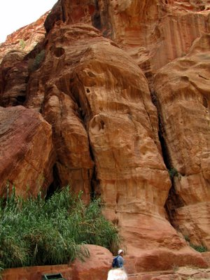 Wr erkennt das Mammut?<br /> <br /> Es steht im Sik vom Petra, Jordanien.