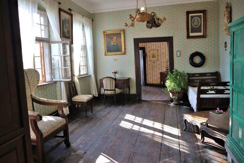 Sterbezimmer von Annette von Droste-Hülshoff