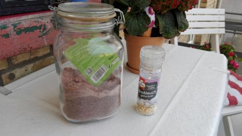 Kala Namak - indisches Gewürz zum schwefelhaltigen Salzen