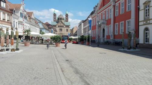 Fußgängerzone in Speyer