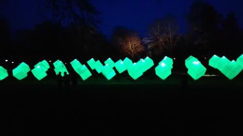 Luisenpark Winterlichter 2018