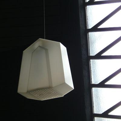 kubistisches Licht<br /> cubist light<br /> Hans Scharoun<br /> Johanneskirche